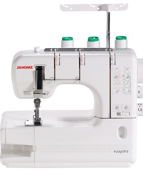 JANOME 900CPX - 2 NEEDLE COVERSTITCH MACHINE