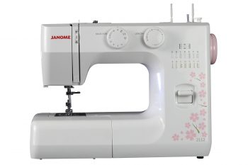 Janome 2112 Cherry Blossom Easy-to-Use Sewing Machine with 12 Stitches fa62d203351d6