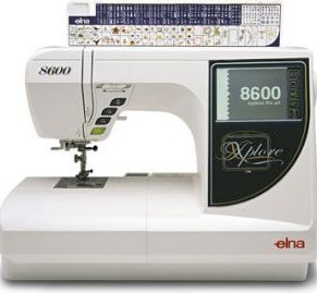 Elna 8600 Sewing and Embroidery model - includes 5x7