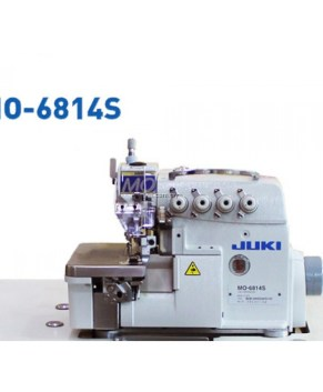 JUKI 6814S INDUSTRIAL SERGER - 4 THREAD COMPLETE WITH TABLE + QUIET MOTOR
