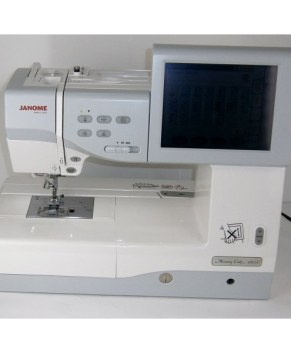 USED JANOME MC11000 Upgraded to Version 2.0