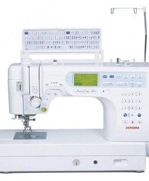 JANOME MC6600P - Sewing and Quilting model 9
