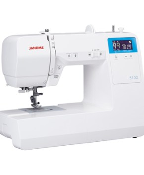 Janome 5100 - Sewing & Quilting Model- Bonus Quilting Kit Incl. ( $299.99 Value )