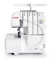 JANOME FOUR DLM SERGER - 4 THREAD WITH DIFFERENTIAL FEED - 3 BONUS FEET INCLUDED