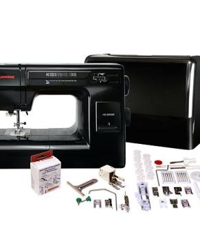 JANOME HD3000 BLACK EDITION - HEAVY DUTY METAL BODY - ETA JANUARY 2021