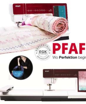 PFAFF Creative Sensation Pro II  - Used - Only 144 Hours
