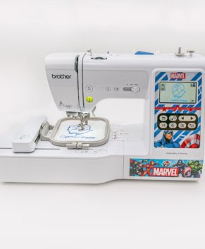 BROTHER - LB5000M Marvel Edition sewing and embroidery machine.