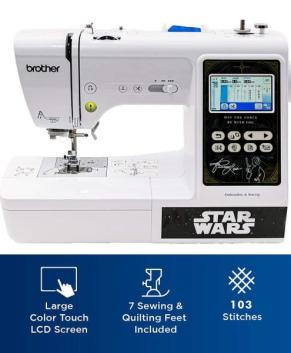BROTHER - LB5000S STAR WARS Computerized Sewing & Embroidery Machine