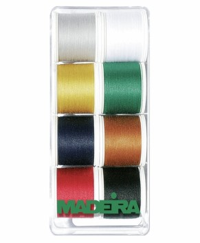 Madeira 8017 | Gift Box | Aerofil No.120 | 8 x 400m - Spools