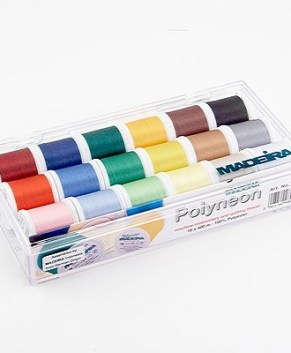 Madeira Polyneon Thread 18 Spool Gift Box
