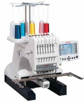 New! Janome MB-7 Seven-Needle Embroidery Machine