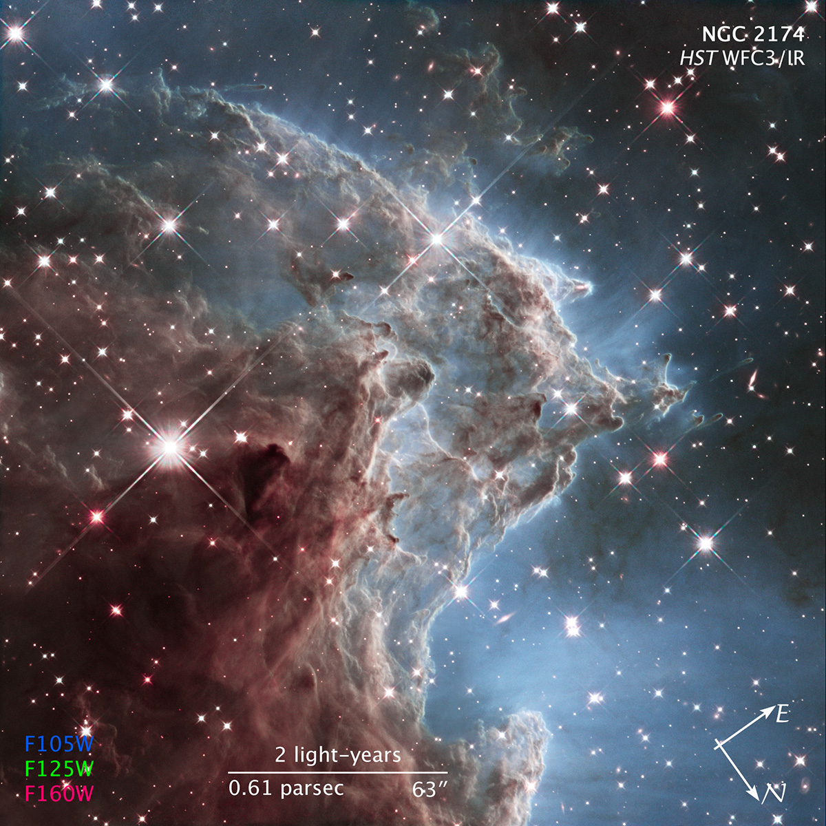 Credit: NASA, ESA, and the Hubble Heritage Team (STScI/AURA) http://hubblesite.org/image/3339/category/107-illustrations http://hubblesite.org/image/3336/category/33-emission-nebulae