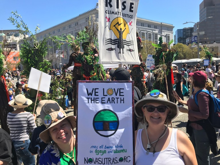 Responding to the Call: Extinction Rebellion Actions in April
