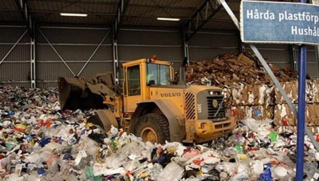 В Швеции только 7% мусора оказывается на свалке.