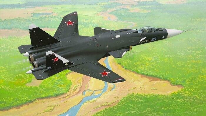 Začal letadlo stále v SSSR. | Foto: Arms-expo.ru.