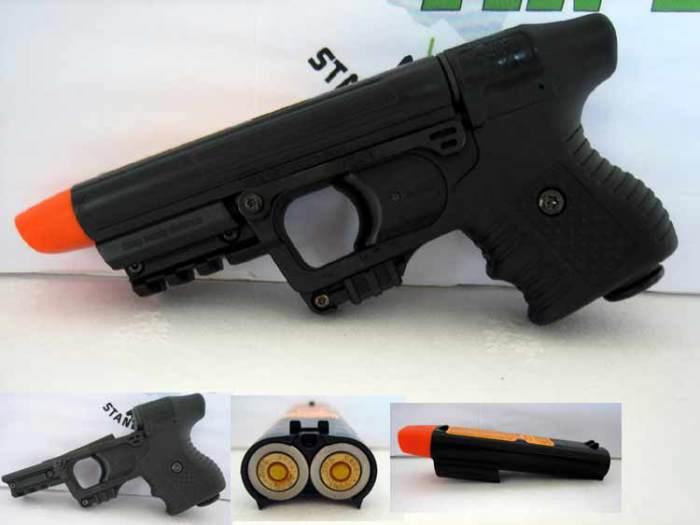 Automatická striekanie zbraň