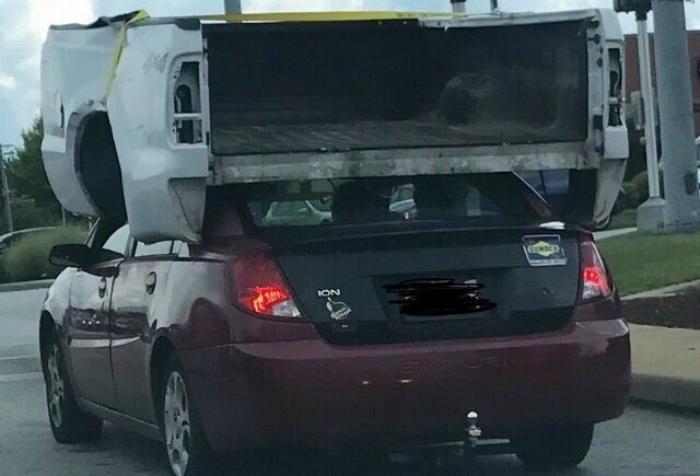 Запасной багажник. | Фото: pisez.com.