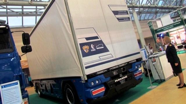 Симметрия конструкции значительно увеличивает диапазон движения грузовика.  / Фото: tarantas.news