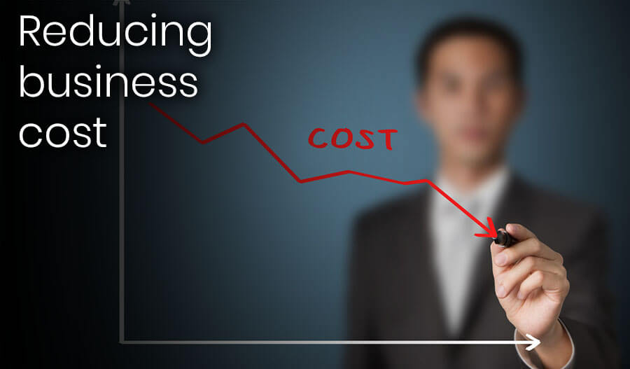 you can reduce your business cost by using digital solutions to your business