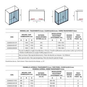 scheda-tecnica-box-doccia-minimal-600