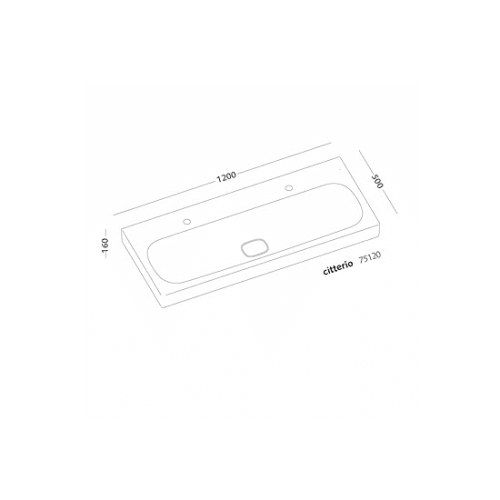 lavabo-citterio-120cm