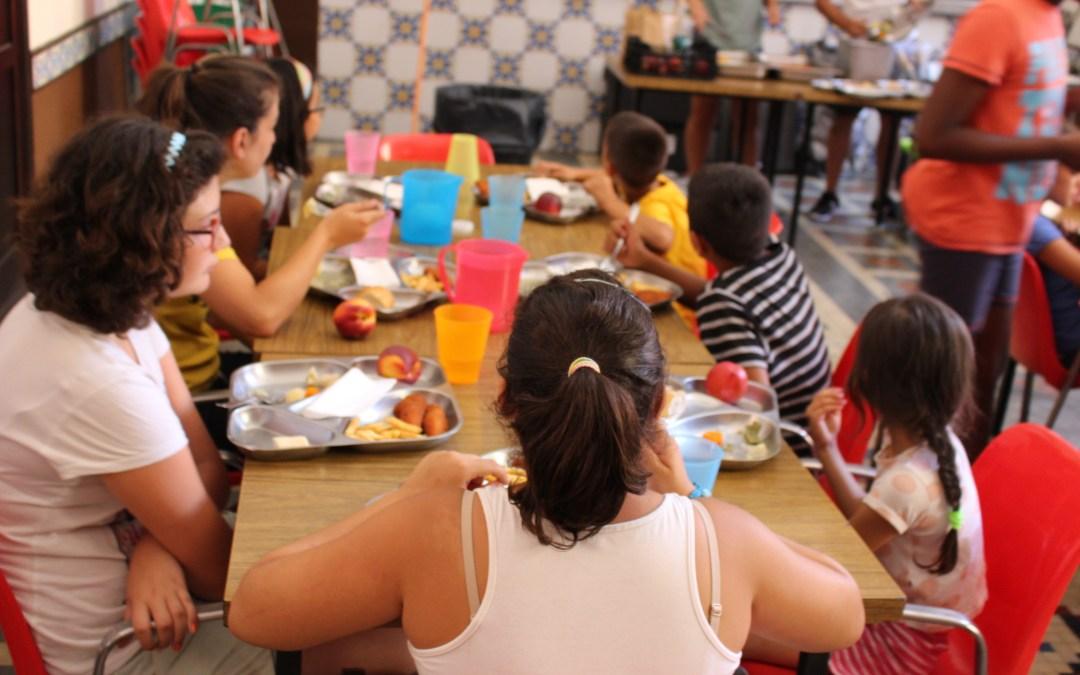 Menús saludables en las Escuelas Urbanas de Verano de la mano de Novaterra Catering