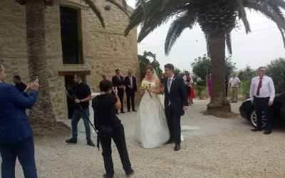Lucía y Antonio, una boda de ensueño en el marco incomparable de La Albufera de Valencia