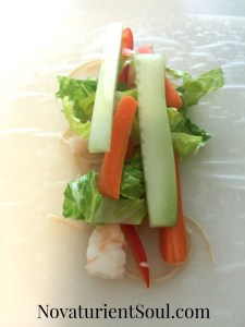 Summer Rolls with Dipping Sauce Recipe - NovaturientSoul.com