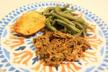 Honey Balsamic Slow Cooker Pork Recipe - NovaturientSoul.com