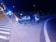 Accident pe A1