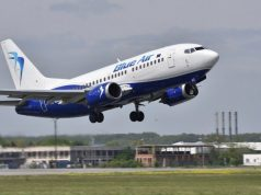 Blue Air suspendă toate cursele regulate
