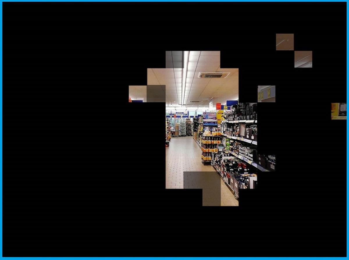 Tunnelblick im Supermarkt