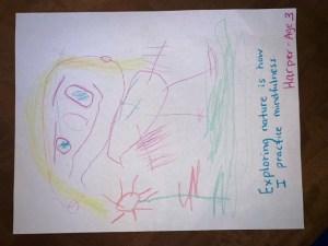 "Artist Description: ""Exploring nature is how I practice mindfulness."""