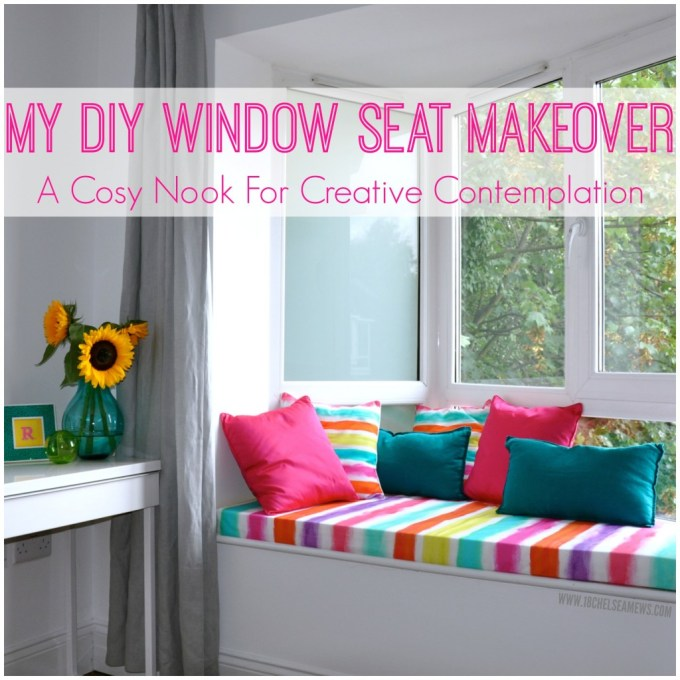 DIY window seat - 18chelseamews.com