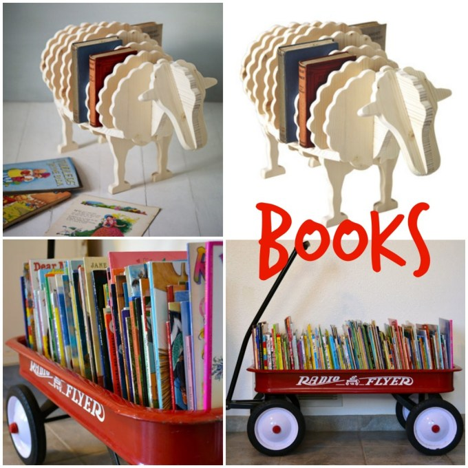 book storage - kids