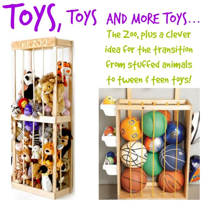 toy storage. the zoo. ball corrall
