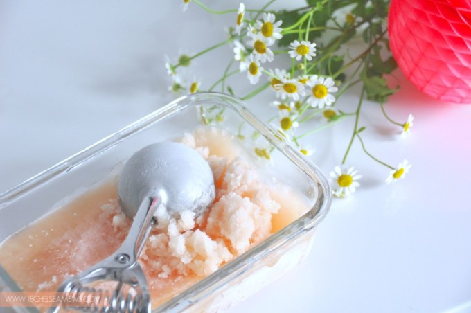 pink grapefruit and butterscotch champagne sorbet 4- www.18chelseamews.com