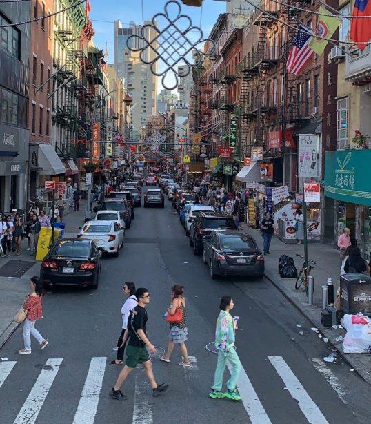 Mott St - a rua que mais gosto em Chinatown