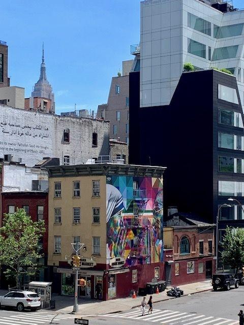 Mural Kobra visto do High Line Park