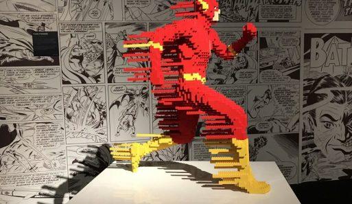 Exposição de Legos em Nova York em Novembro