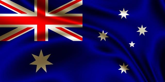 A bandeira da Australia