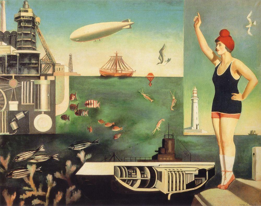"Harue Koga, ""Mare"", 1929-1931"