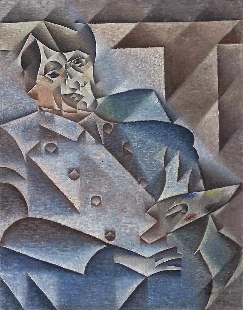 """Juan Gris, """"Ritratto di Pablo Picasso"""", 1912"""