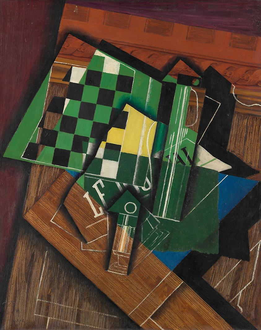 "Juan Gris, ""La scacchiera"", 1915"