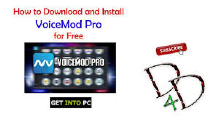 Voicemod Pro Crack Full Latest Version With License Key Free