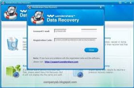 Wondershare Data Recovery Cracked