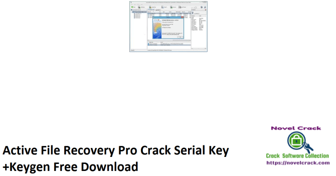 Active File Recovery Pro Crack Serial Key +Keygen Free Download