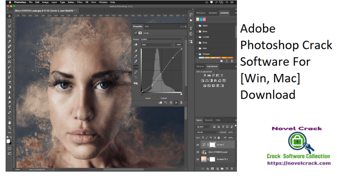 Adobe Photoshop Crack Software For [Win, Mac] Download