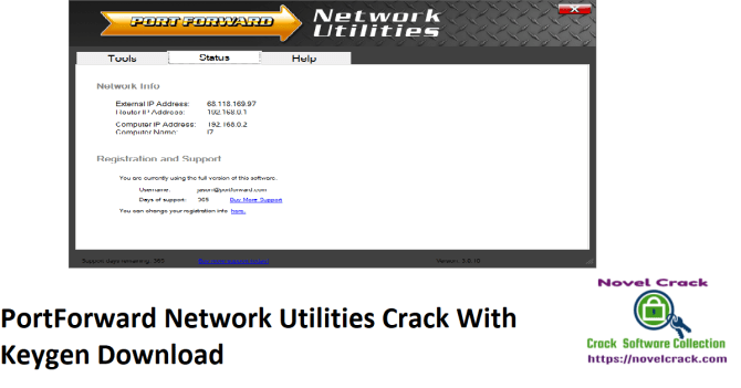 PortForward Network Utilities Crack With Keygen Download