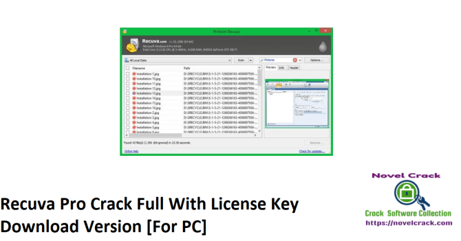 Recuva Pro Crack Full With License Key Download Version [For PC]